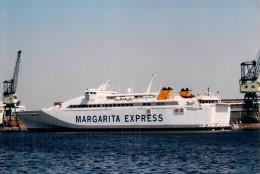 "Photo Bateau "" Margarita "" Express Commerce Maritime Port Transport Mer - Schiffe"
