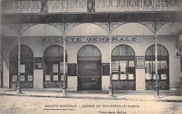 ALGERIE Algeria -  PHILIPPEVILLE (  SKIKDA ) : Succursale De La Banque SOCIETE GENERALE Place De La Marine - CPA - - Skikda (Philippeville)