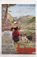 VIC SUR CERE - Chemin De Fer D' Orléans - Llustration De J. Hugo D' Alési - Chèvres  (88716) - France