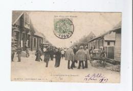 A LA FRONTIERE DE LA SCHLUCHT 1907 (BELLE ANIMATION) 2245 - Douane