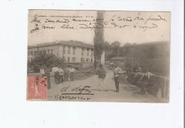 AINHOA (64) 6 PONT INTERNATIONAL DE DANCHARIA (ESPAGNE) 1904   DOUANIERS - Douane