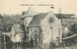 Rigny-Ussé  La Vieille église XVe Siècle - France
