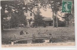 BEAUCHAMPS Pièce Eau Et Faucons Parc Barrachin - Beauchamp
