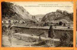 CAL1026, Pontarlier, Forts De Joux Et Du Larmont, La Cluse, Chemin De Fer, 420,  Non Circulée - Pontarlier