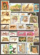 32 Timbres ( Lion & Autres )