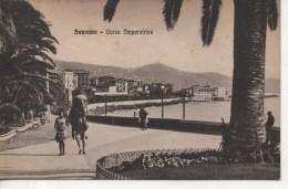 CPA - SAN REMO - CORSO IMPERATRICE - 95995 - S. T. A. - ANIMEE - San Remo