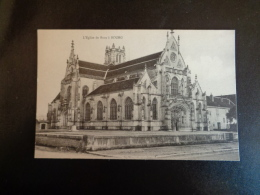 01 Bourg-en-Bresse Carte Postale Eglise De Brou - Brou - Chiesa
