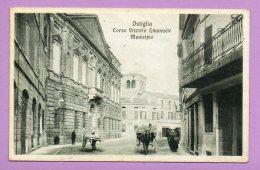 Ostiglia - Corso Vittorio Emanuele - Municipio - Mantova