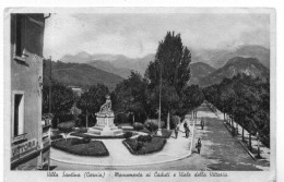 Villa Santina (Carnia) - Monumento Ai Caduti E Viale Della Vittoria - Udine