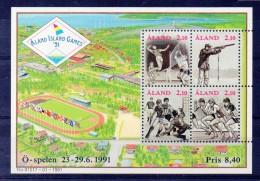 ALAND Timbres Neufs ** De 1991 ( Ref 3470 ) Sport - Aland