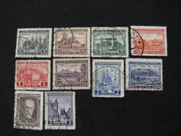 Tschechoslowakei  267 - 276  O - Gebraucht
