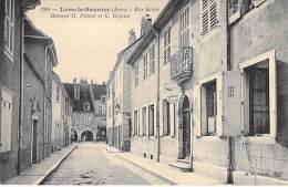 39 - LONS LE SAULNIER : Rue Sébile : BANQUE H. PITOLET Et G. RIGAUD ( Et Pierre COSSET , Avoué ) - CPA - Jura - Lons Le Saunier