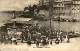 35 - DINARD - Bateau Vapeur - Bac - Dinard
