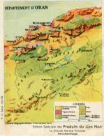 ALGERIE(ORAN) PUBLICITE LION NOIR - Oran