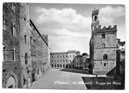 VOLTERRA PIAZZA DEI PRIORI  VIAGGIATA  FG MANCA F.BOLLO - Pisa