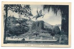 LA SPEZIA MONUM. A G.GARIBALDI 1931 VIAGGIATA FP - La Spezia