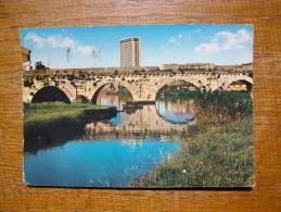 Rimini , Ponte Tiberio E Grattacielo - Rimini
