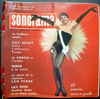 SONORAMA  ZIZI JEANMAIRE GUY BEART LEO FERRE BIEN COMPLET DES DISQUES  N°36 1962 TBE - Vinyl Records