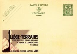 20280 - Entier Postal - Carte Publibel N° 280 - Liège Terrains - Voir Photo Pour Détails - Stamped Stationery
