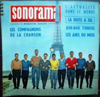 SONORAMA LES COMPAGNONS DE LA CHANSON  JACQUELINE KENNEDY BIEN COMPLET DES DISQUES  N° 27  1961TBE - Unclassified