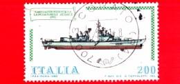 "ITALIA - Usato - 1980 - Navi - 4ª Emissione - 200 L. • Cacciatorpediniere ""Audace"" - 1971-80: Usados"