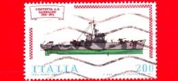"ITALIA - Usato - 1980 - Navi - 4ª Emissione - 200 L. • Corvetta ""Gabbiano"" - 1971-80: Usados"