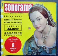 SONORAMA  ROMY SCHNEIDER EDITH PIAF CHARLES DUMONT  BIEN COMPLET DES DISQUES  N° 30 1961 TBE - Vinyl Records