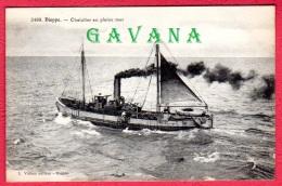 76 DIEPPE - Chalutier En Pleine Mer - Dieppe
