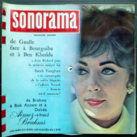 SONORAMA  FERNAND RAYNAUD LIZ TAYLOR     BIEN COMPLET DES DISQUES  N° 33 1961 TBE - Vinyl Records