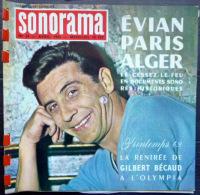 SONORAMA  BECAUD EVIAN PETULA CLARK    BIEN COMPLET DES DISQUES  N° 39 1962 TBE - Non Classés