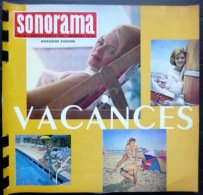 SONORAMA  VACANCES 14 JUILLET   BIEN COMPLET DES DISQUES  N° 42 1962 TBE - Unclassified