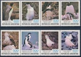 ARGENTINA 1980 ANTARCTIC BIRDS & PENGUINS - Antarctic Wildlife