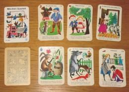 Jeu De Cartes 6 Familles Les Contes En Allemand Année 50 Sans Boîte - Playing Cards