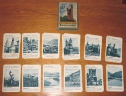 Jeu De Cartes Familles Les Villes Au Bord Du Rhin En Allemand Année 50 + Boîte - Unclassified