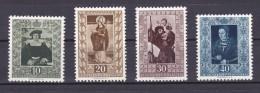 311 A 314 SERIE COMPLETA DE 4 SELLOS DE LIECHTENSTEIN - Liechtenstein