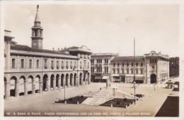 Italy Torino S Dona Di Piave Piazza Independenza Con La Casa Del Fascio Real Photo - Churches