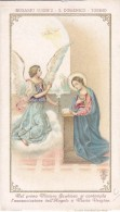 SANTINO ROSARIO VIVENTE 1°MISTERO GAUDIOSO ARCANGELO GABRIELE CROMOLITO ED.SANTA LEGA EUCARISTICACM. 7X12,3-2-0882-25498 - Imágenes Religiosas