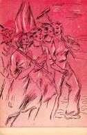 PROPAGANDE COMMUNISTE / COMMUNIST PROPAGANDA : TRAVAIL De JEUNES / YOUNG WORKING CLASS - ANNÉE / YEAR ~ 1950 (r-482) - Rumania
