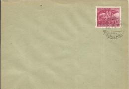 1945  Ein Volk Steht Auf   Auf Umschlag Mit Stempel Wendeburg über Braunschweig - Germania