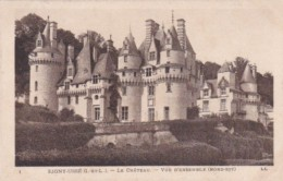 France Rigny-Usse Le Chateau Vue d'Ensemble Nord-Est