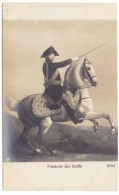 Frederick The Great, Frederick II King Of Prussia, Military Leader, C1900s/10s Vintage Postcard - Koninklijke Families