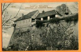 CAL1038, Graz, Castell Am Schlossberg, Wetterkugel Bei Schlechtem Wetter, Circulée 1908 - Graz