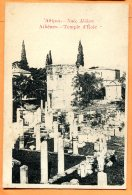 CAL1041, Athènes, Temple D' Eole, Circulée 1915 Sous Enveloppe - Griekenland