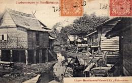 INDONESIE PAALWONINGEN TE BANDJERMASIN - Indonésie