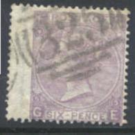 GREAT BRITAIN 45, Used, Sound, Pl# 5, Lilac, SCV$ 100 (gb045-3, S.G. 97....[16-ART - 1840-1901 (Victoria)