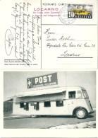 """Sonderstempel  """"Locarno - XII.Festa Delle Camelie""""                 1938 - Suisse"""