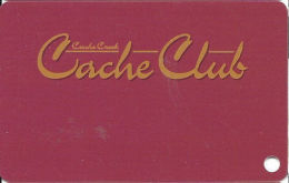 Cache Creek Casino Brooks, CA Slot Card  (BLANK) - Casino Cards