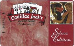 Cadillac Jack Casino Deadwood, SD - Slot Card  (BLANK) - Casino Cards