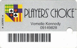 Charles Town Races - Slot Card - Bottom Line Reverse Aligned Left - Casino Cards