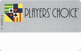 Charles Town Races - Slot Card - Bottom Line Reverse Centered - No Mfg Mark  (BLANK) - Casinokaarten